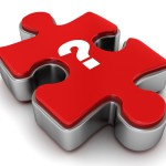 jigsaw question mark by master isloated images